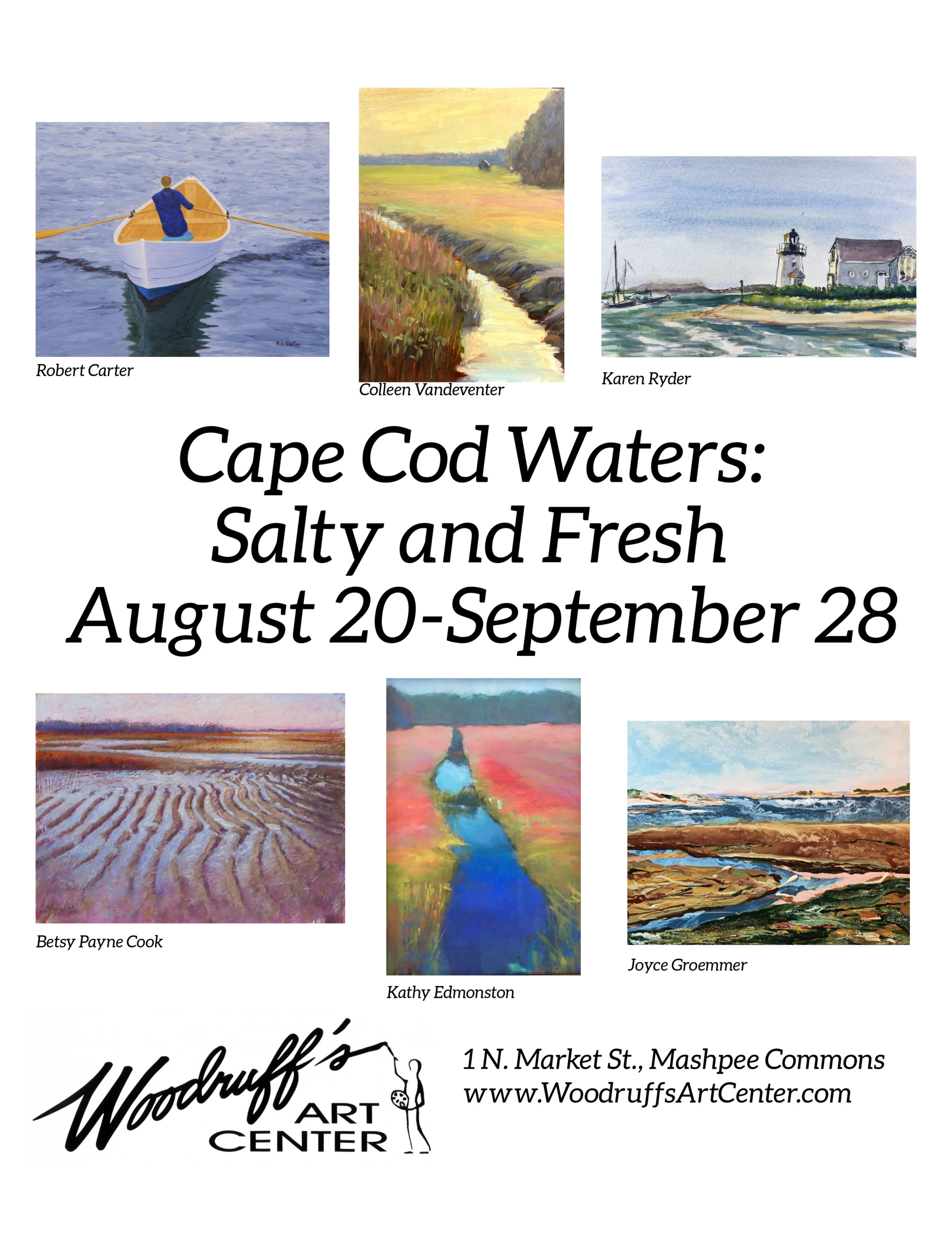 Cape Cod Waters: Salty and Fresh